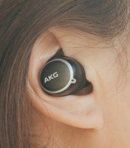 AKG N400 노이즈캔슬링 이어폰 이어팁